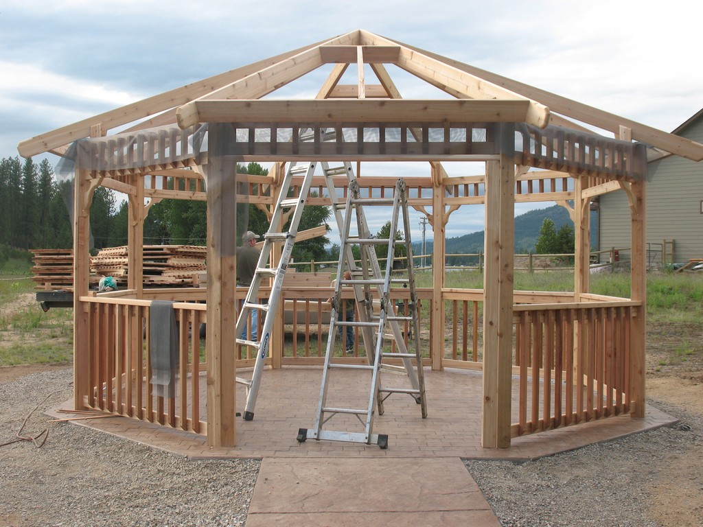 12x12 Screened Gazebo | 8x8 Screened Gazebo | Screened Gazebo