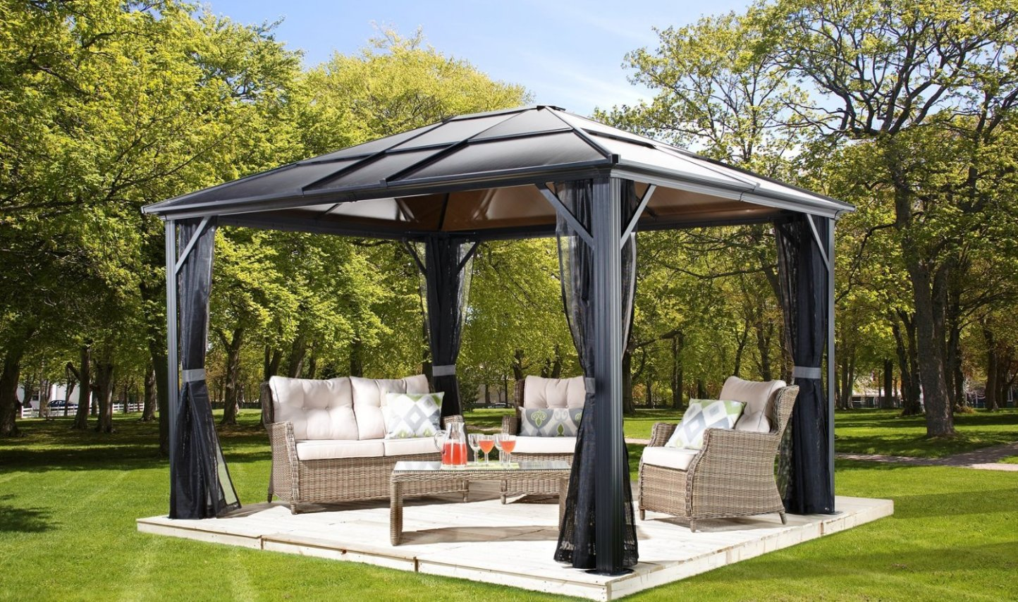 15 X 20 Gazebo | 8x10 Gazebo | Screened Gazebo