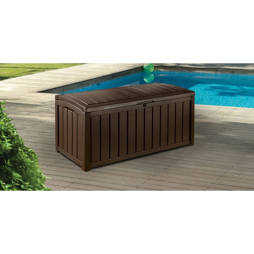 150 Gallon Deck Storage Box | Keter 150 Gallon Deck Box | Watertight Outdoor Storage