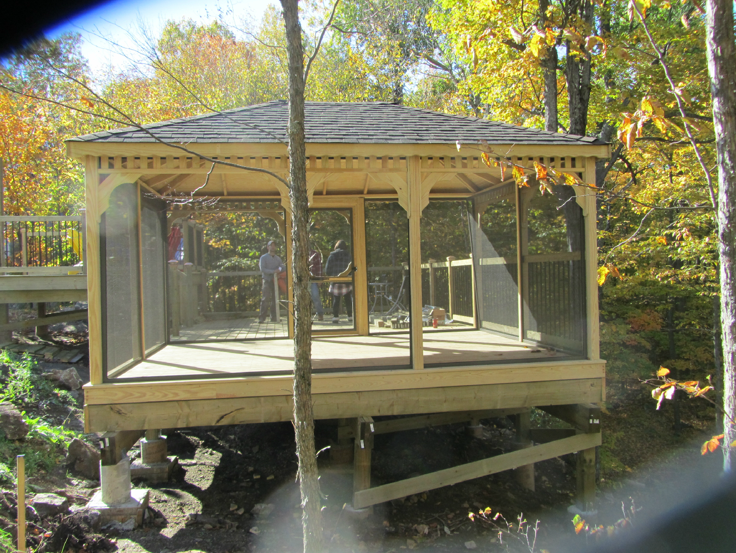 15x15 Gazebo | 8x10 Gazebo Canopy | Screened Gazebo