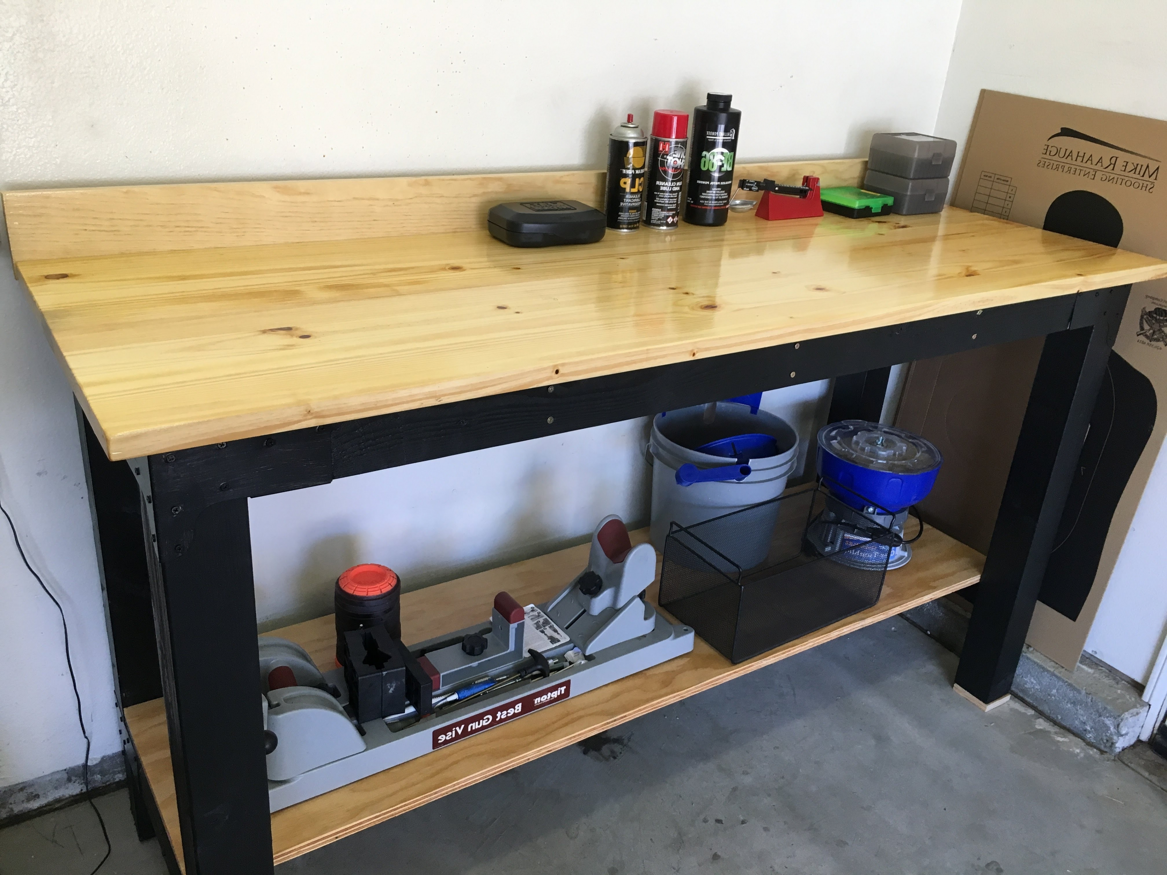 2x4 Basics Reloading Bench | Reloading Benches | Reloading Bench Ideas