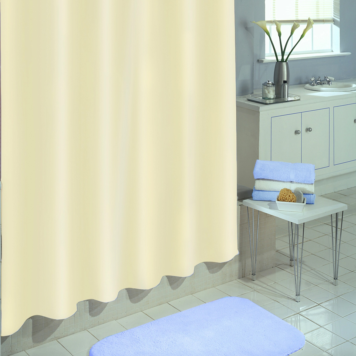 360 Shower Curtain | Clawfoot Tub Curtains | Clawfoot Tub Shower Curtain