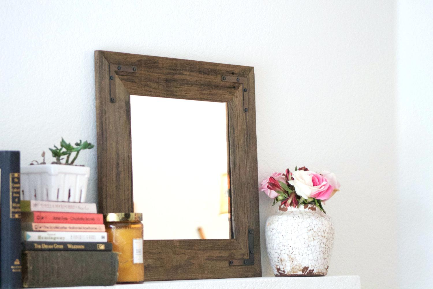 3x5 Mirror | Cheap Large Wall Mirrors for Sale | Reclaimed Wood Mirror