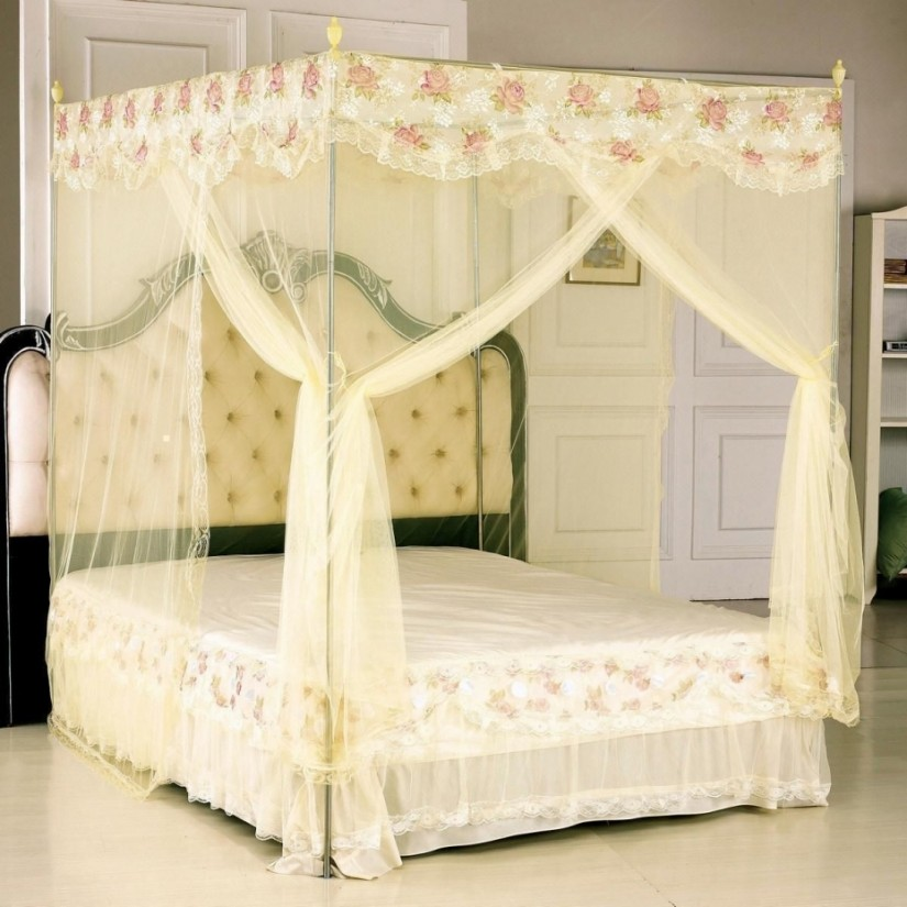 4 Poster Bed Canopy Curtains | Canopy Curtains For Four Poster Bed | Canopy Bed Curtains
