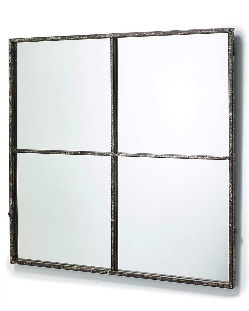 5ft Mirror | Rectangular Wall Mirror | Windowpane Mirror
