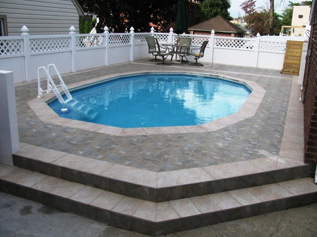 Above Ground Swimming Pool Ideas | Semi Inground Pool Ideas | Above Ground Swimming Pools with Deck