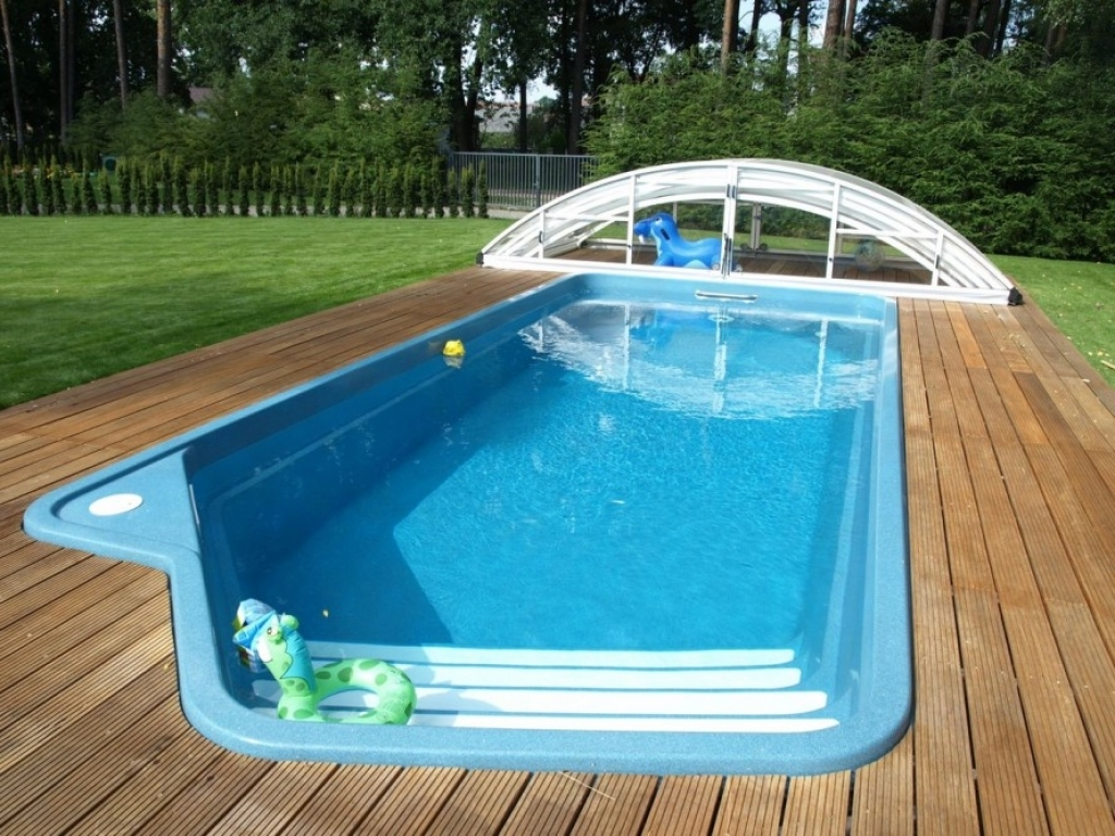 Above Ground Swimming Pools Installed | Putting An Above Ground Pool Inground | Semi Inground Pool Ideas