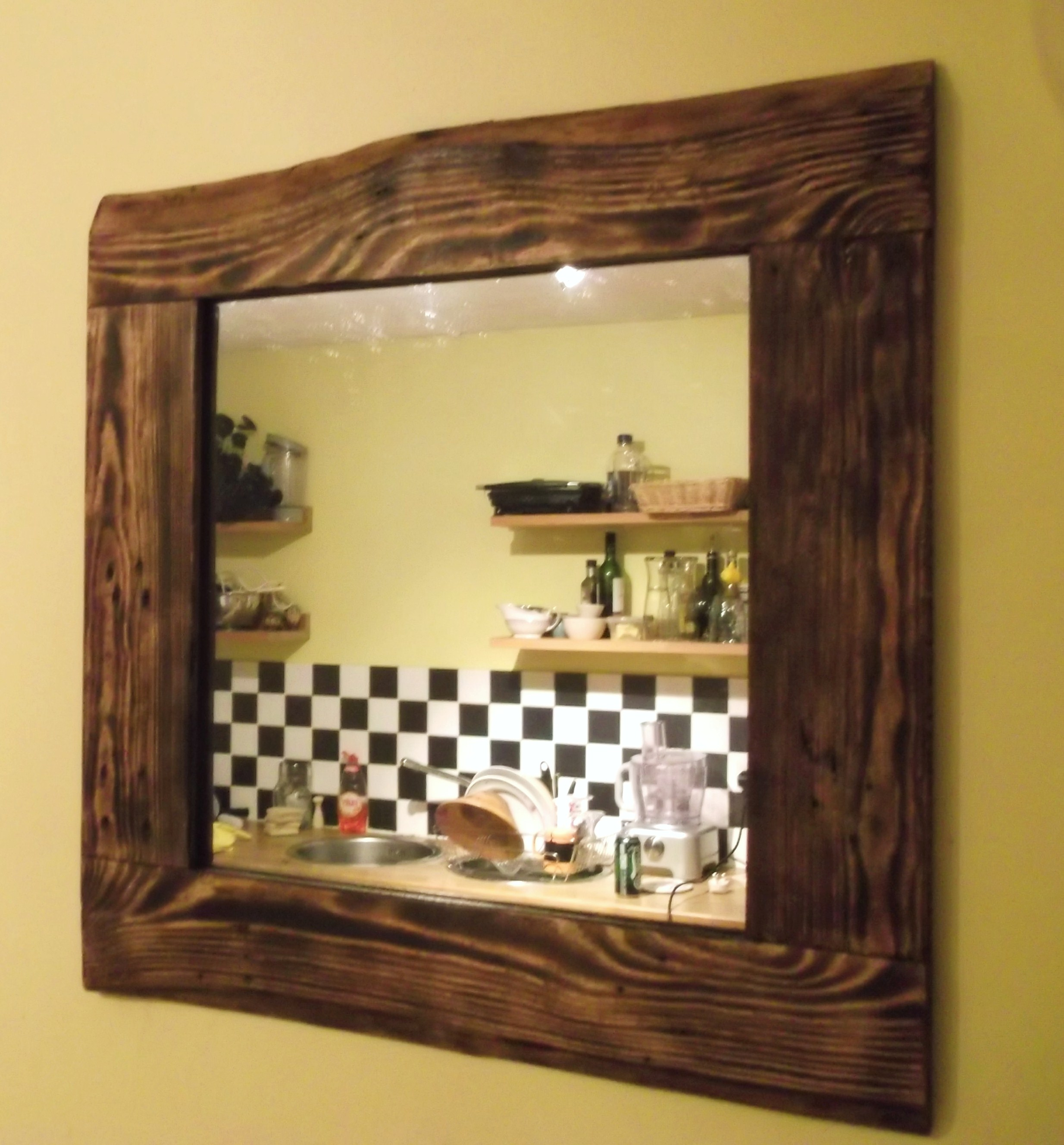 Allen Roth Mirror | Reclaimed Wood Mirror | Decorative Full Length Mirrors