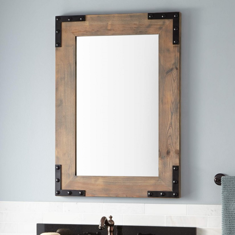 Allen Roth Mirrors | Cheap Oval Mirrors For Sale | Reclaimed Wood Mirror