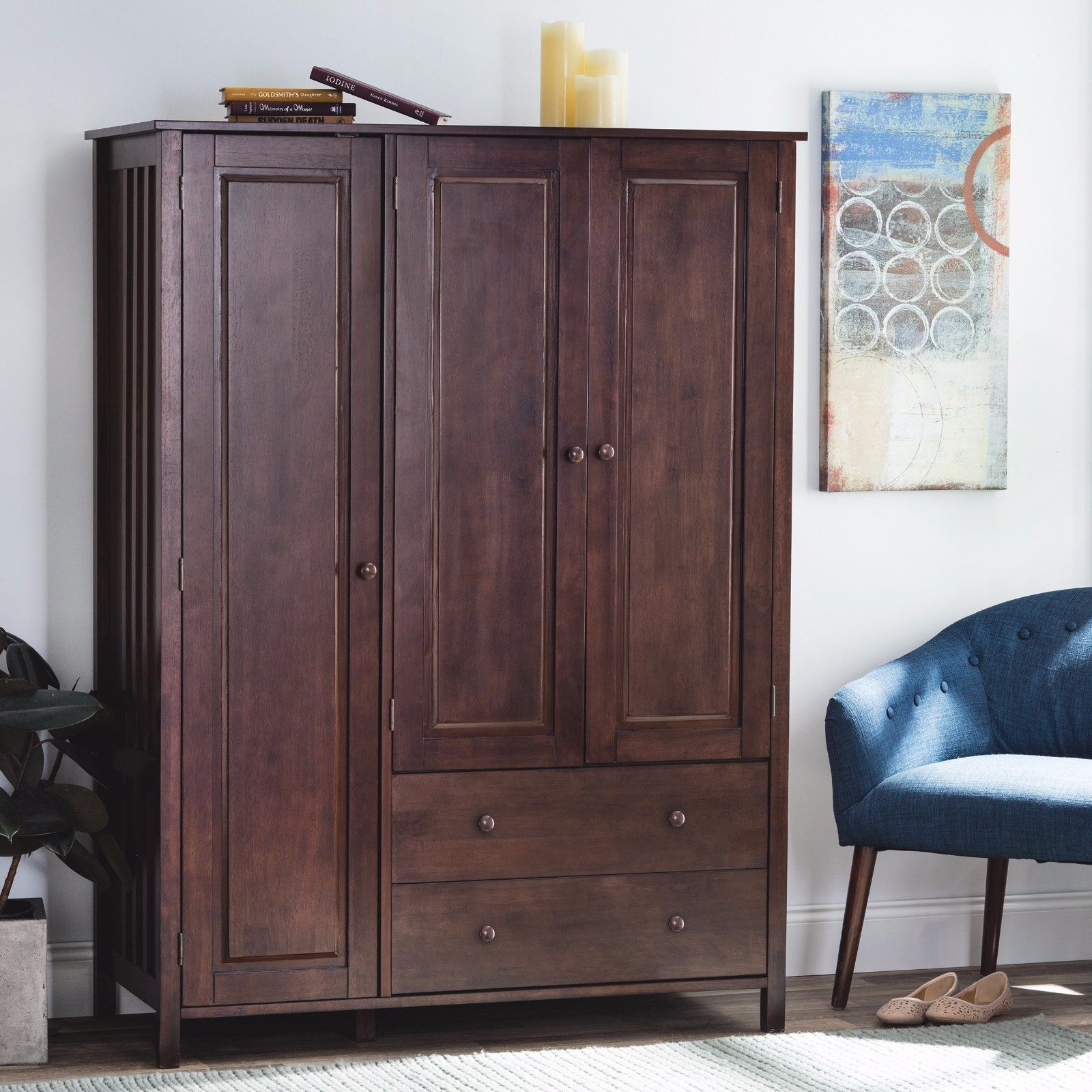Storage: Armoire Ikea | Bedroom Wardrobe Armoires | Wardrobe ...