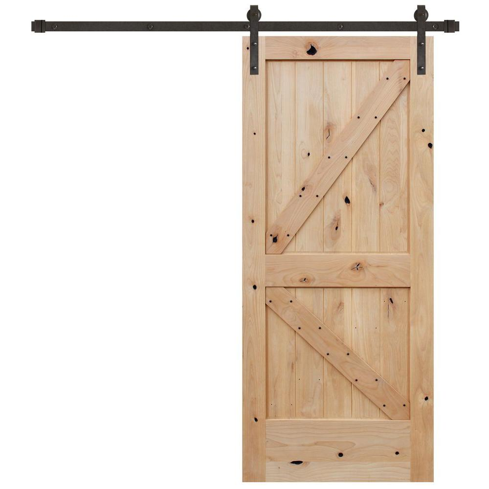 Barn Sliding Door Kit | Interior Sliding Barn Door Kit | Bypass Barn Doors