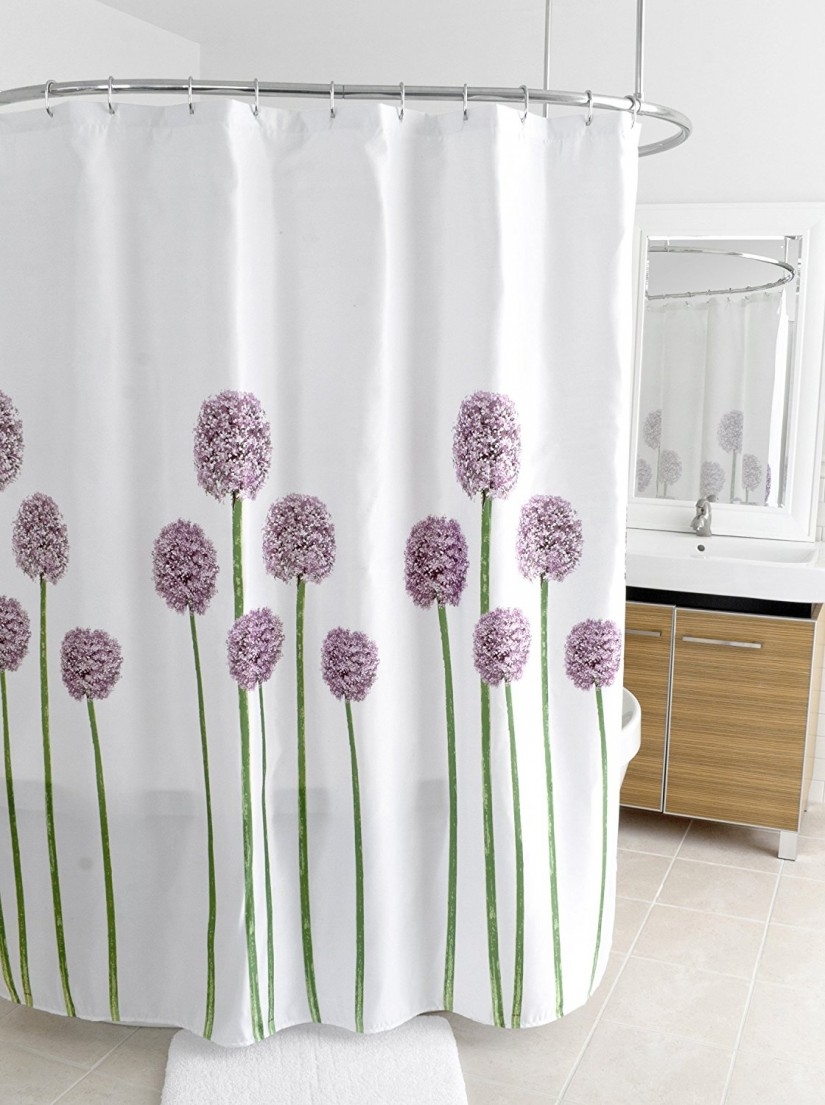 Bed Bath Shower Curtains   Floral Shower Curtain   Mens Shower Curtain