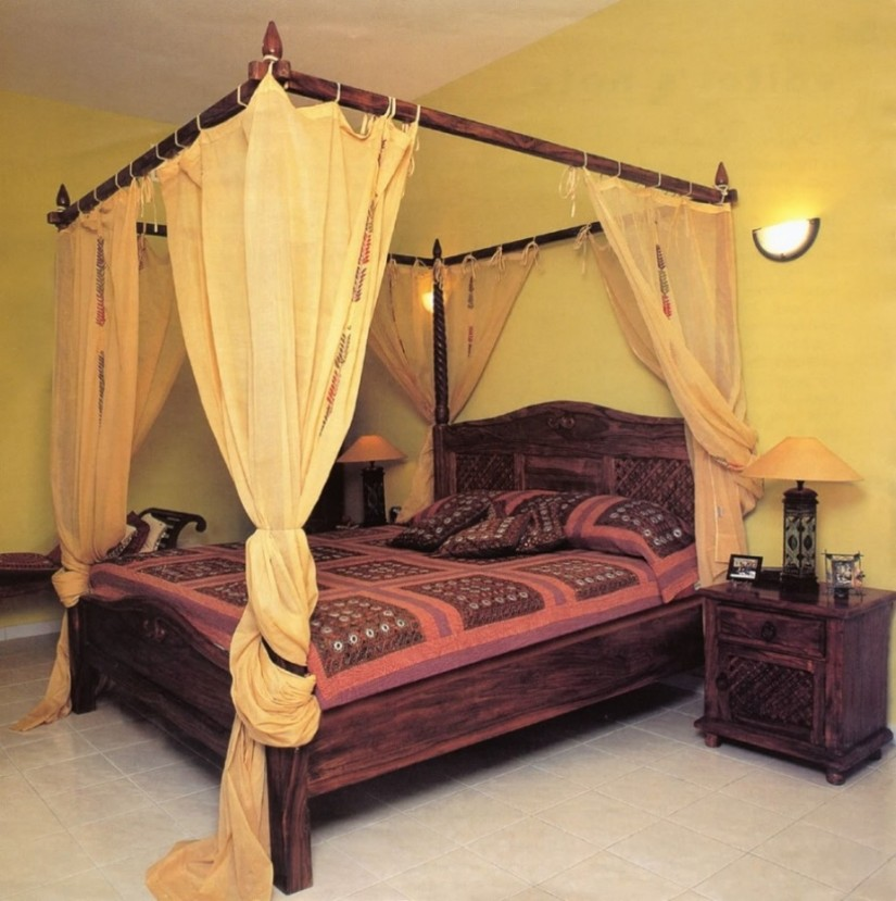 Bed Canopy Curtains | Queen Canopy Bed With Curtains | Canopy Bed Curtains
