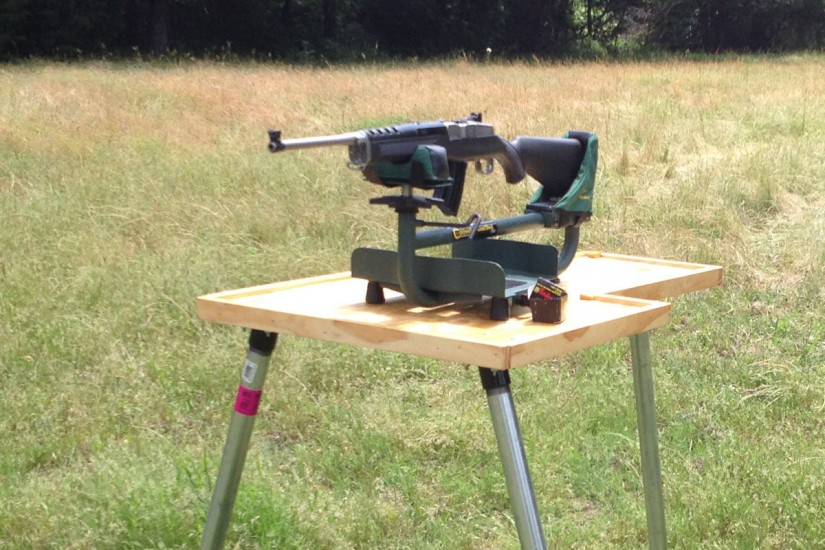 Benchrest Table | How To Build A Shooting Bench | Homemade Bench Rest