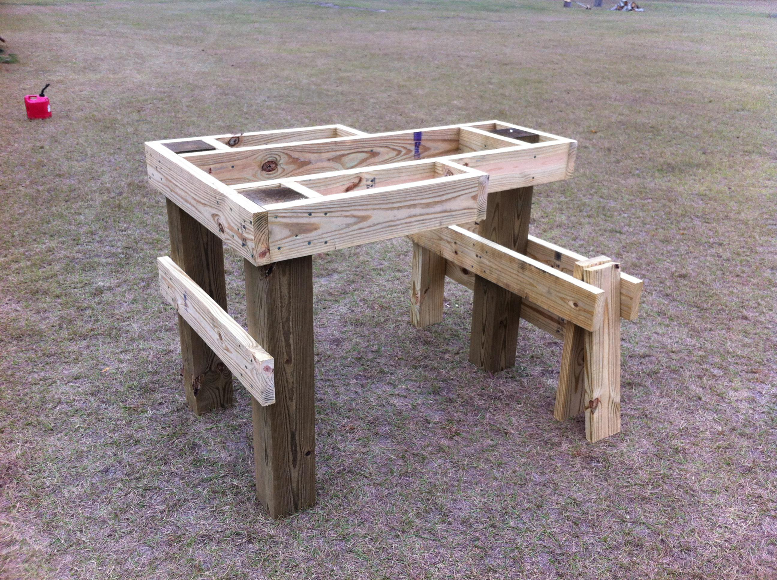 Best Portable Shooting Bench | Plans for Portable Shooting Bench | How to Build A Shooting Bench