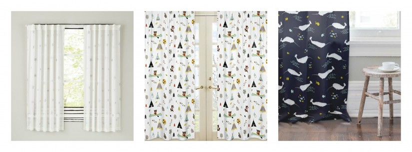 Blackout Curtains For Girls Room | Ruffle Blackout Curtains | Blackout Curtains Girls
