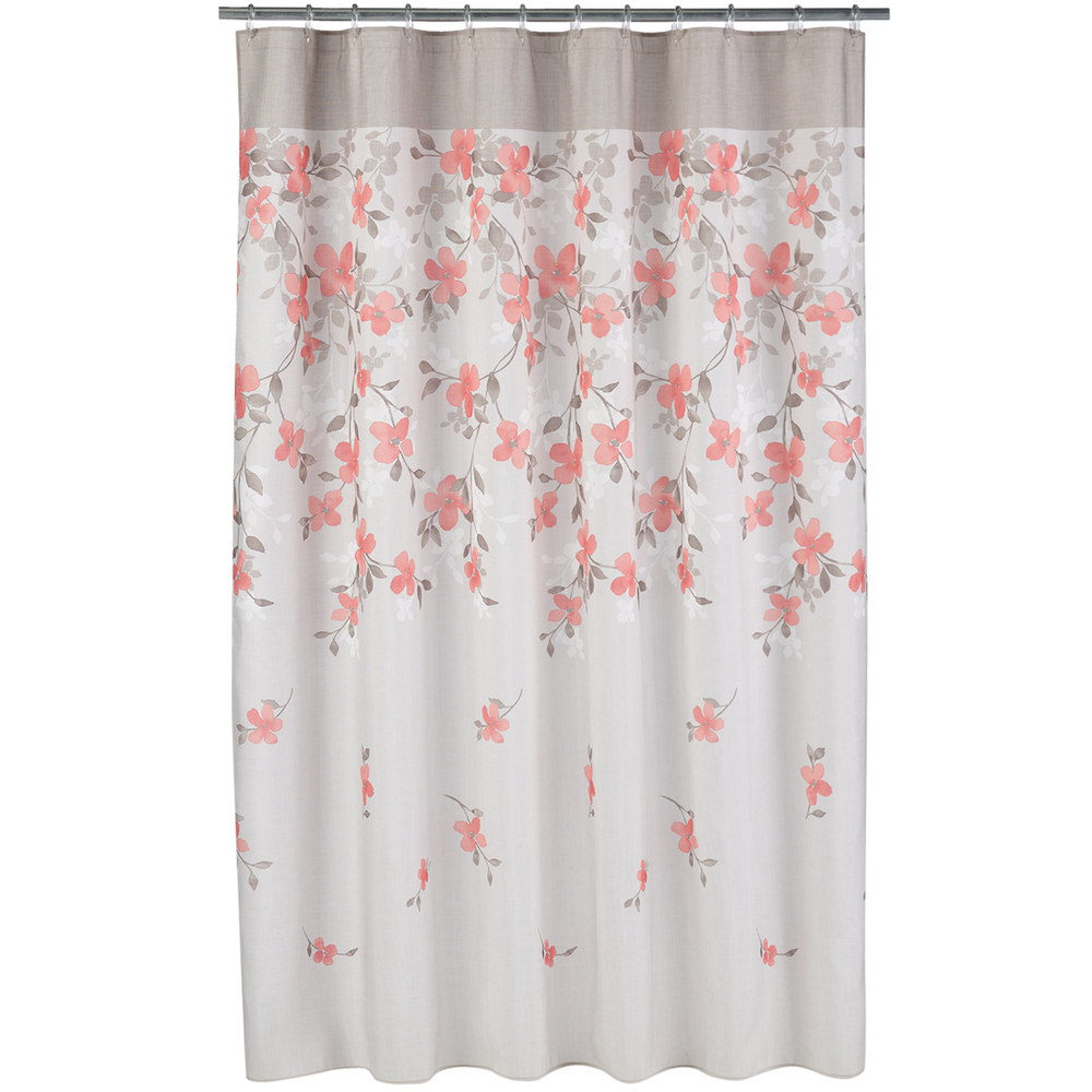 Beautiful Bathroom Decor Ideas with Floral Shower Curtain: Botanical Shower Curtains | Shower Curtain Floral | Floral Shower Curtain