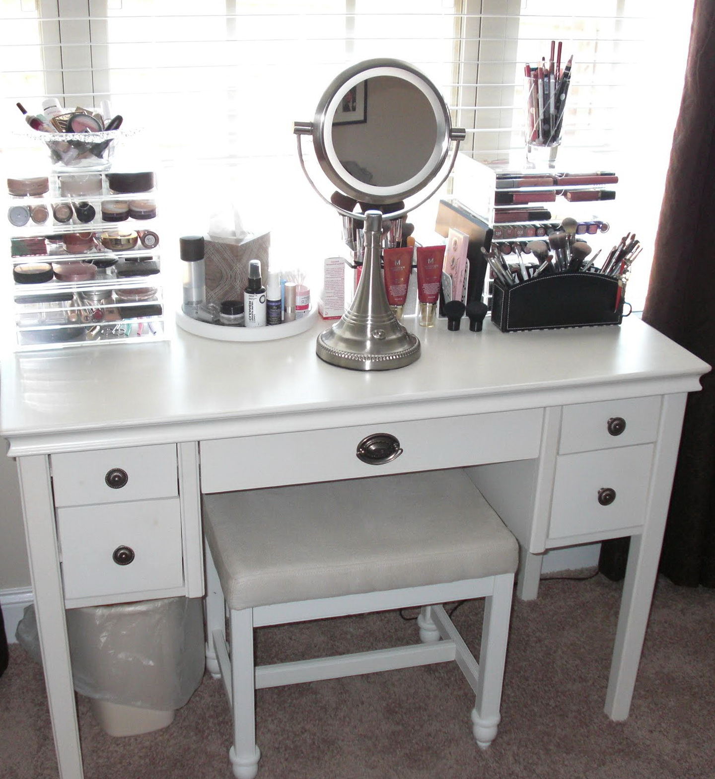 Broadway Lighted Vanity Mirror | Hollywood Vanity Mirror with Lights | Vanity Mirror Makeup