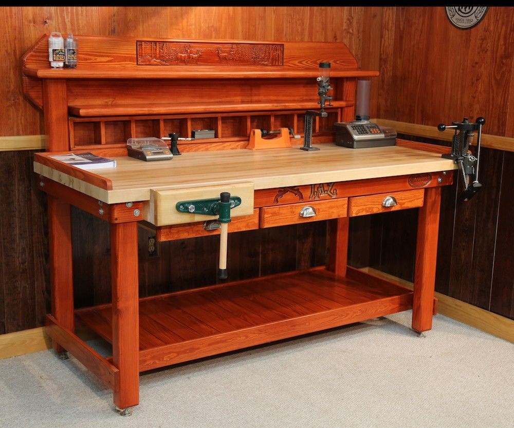 Build A Reloading Bench | Reloading Benches | Reloading Press Table