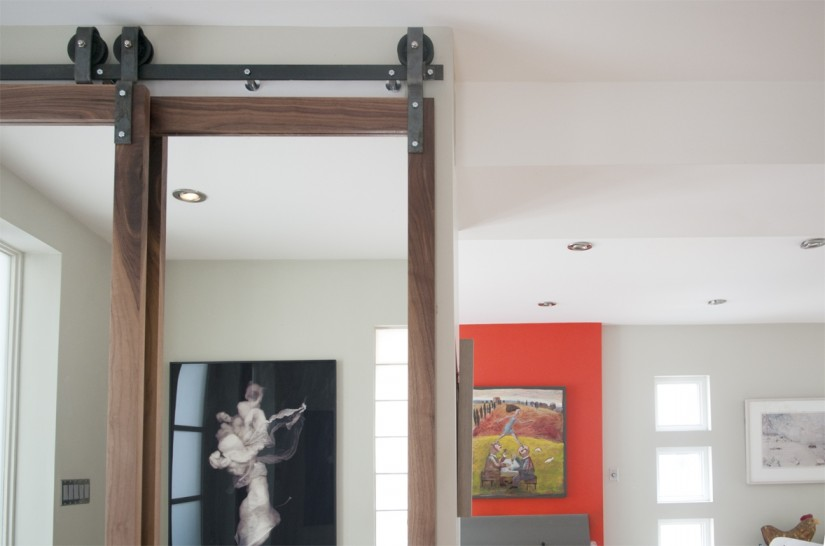 Bypass Barn Door Track System | Interior Sliding Door Kit | Bypass Barn Doors