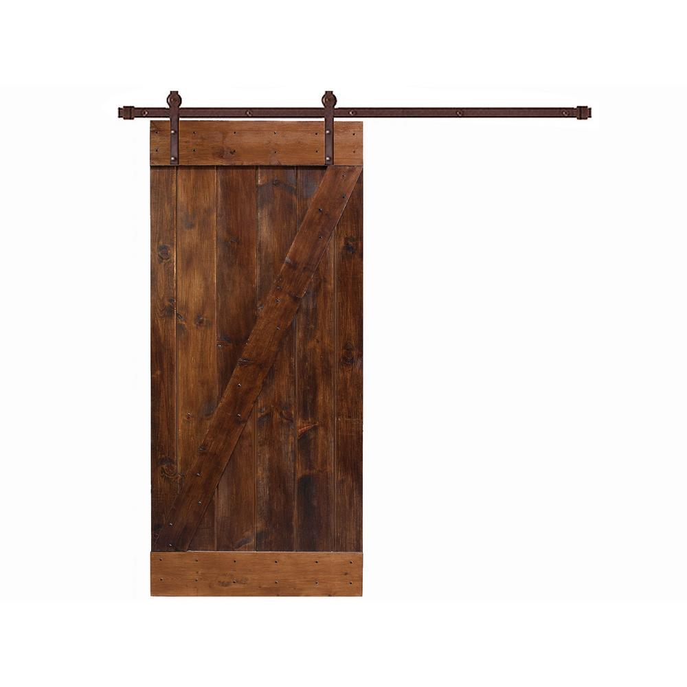 Bypass Barn Doors | Barn Door and Hardware Kit | Tracks for Barn Doors