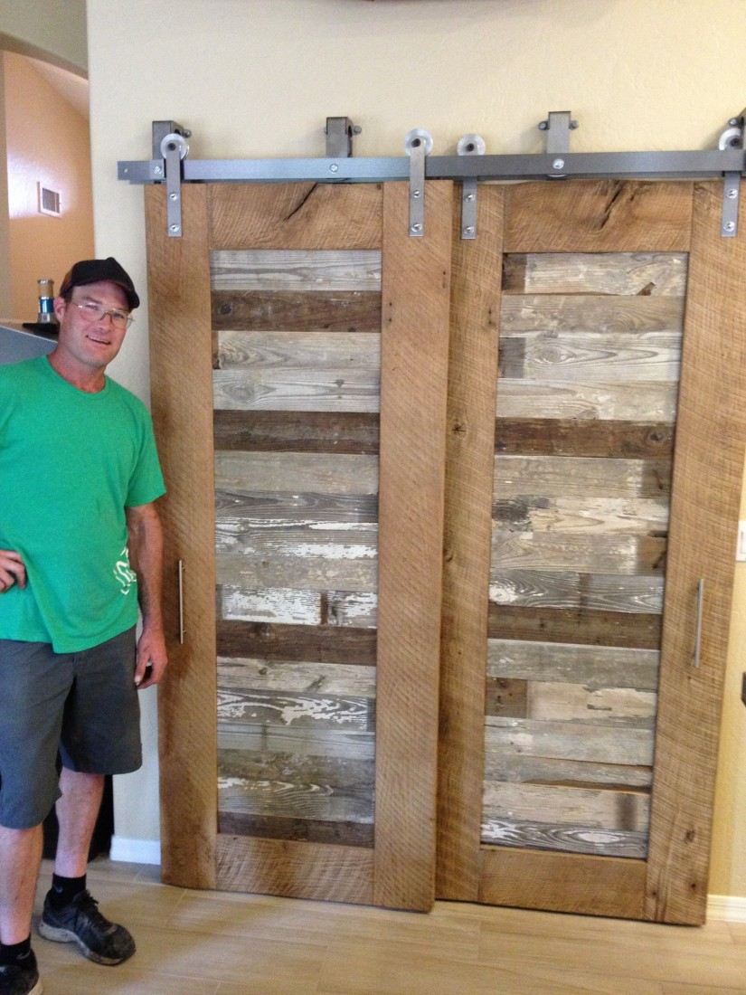 Bypass Barn Doors | Barn Door Bypass Hardware | Track Barn Door