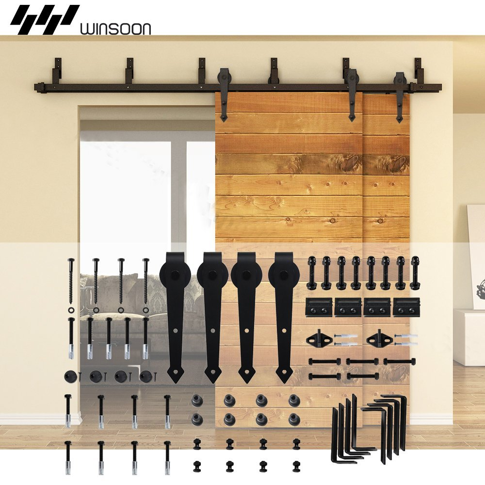 Bypass Barn Doors | Diy Bypass Barn Door Hardware | Home Depot Barn Door