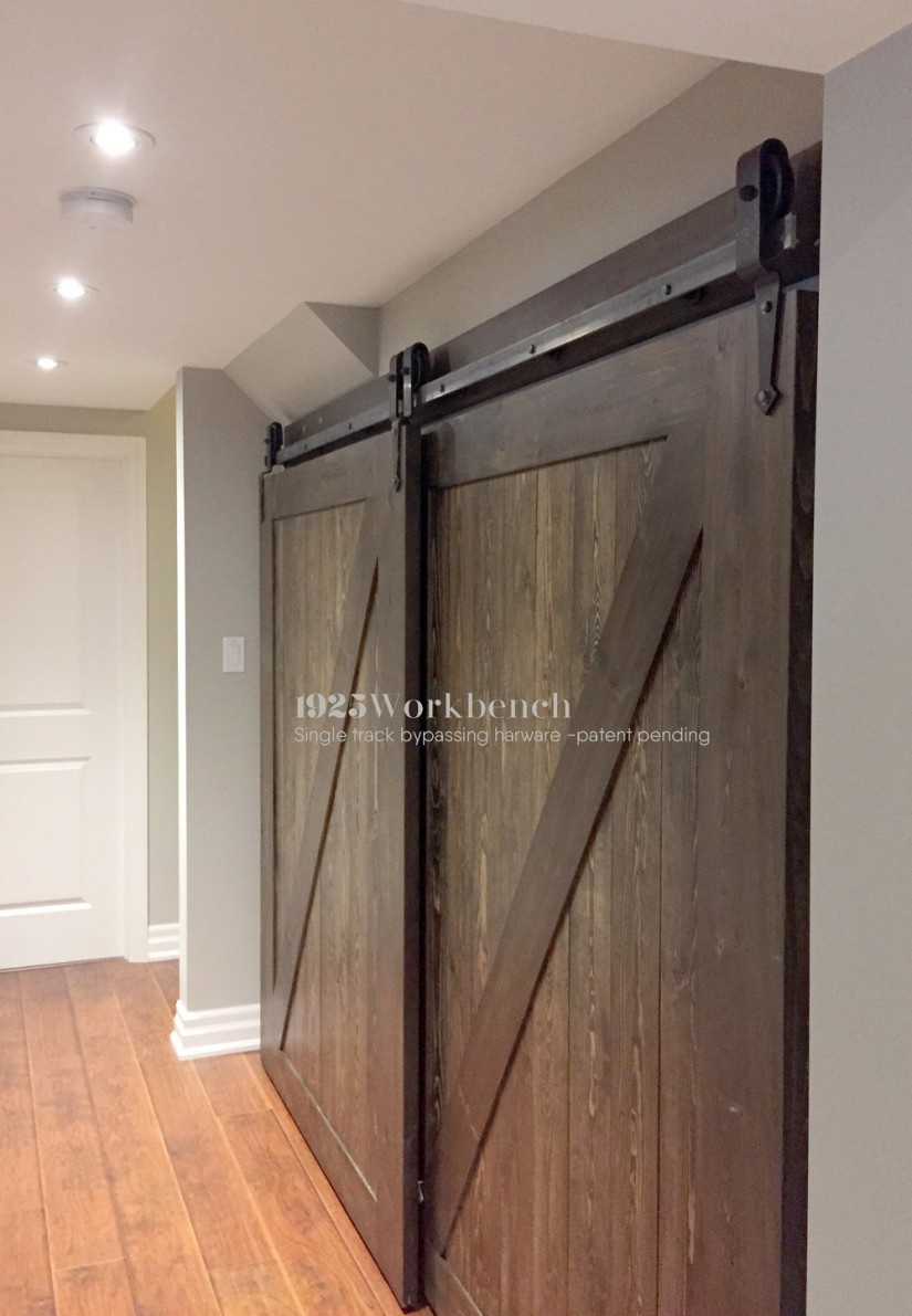 Bypass Barn Doors | Rolling Door Hardware | Bypass Barn Door Hardware System