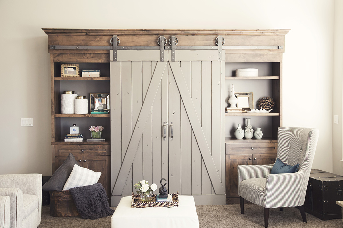 Bypass Barn Doors | Sliding Bypass Barn Door Hardware | Barn Doors Lowes