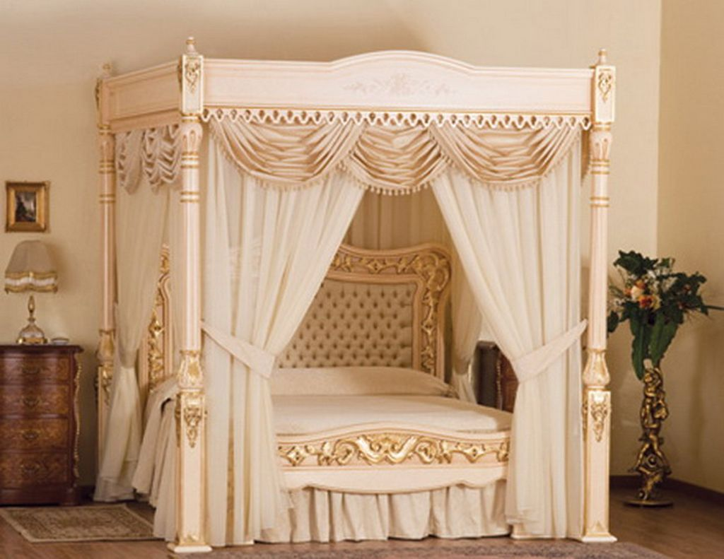 Canopy Bed Curtains | Bed Canopy Curtains | 4 Poster Bed Canopy Curtains & Curtain: Canopy Bed Curtain Rods | Canopy Bed Curtains | Canopy ...