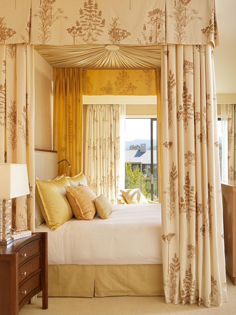 Canopy Bed Curtains | Bed Canopy Drapes | Curtains For Canopy Bed