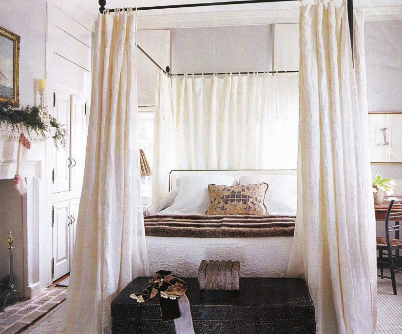 Canopy Bed Curtains | Canopy Bed Curtain Rods | Beds With Canopy Curtains