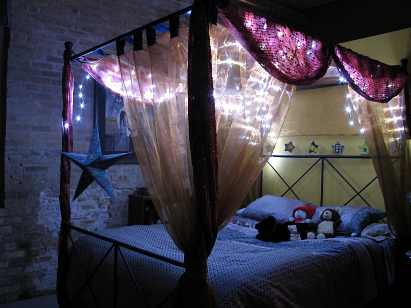 Canopy Bed Curtains | Canopy Bed Curtains For Girls | Canopy Bed Curtains Queen