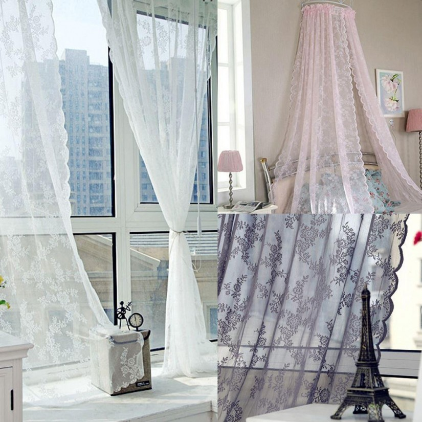 Canopy Bed Curtains | Canopy Sheer Curtains | Canopy Bed Curtains Queen