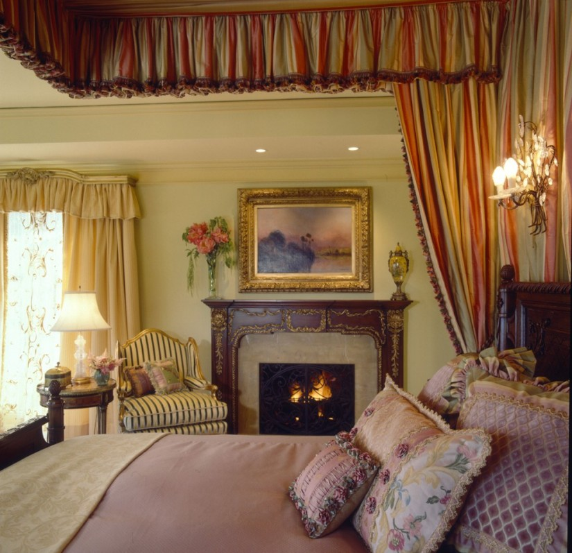 Canopy Bed Curtains | Curtain Rods For Canopy Bed | How To Hang Canopy Bed Curtains
