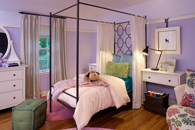Canopy Bed Curtains | Thick Canopy Bed Curtains | Twin Canopy Bed Curtains