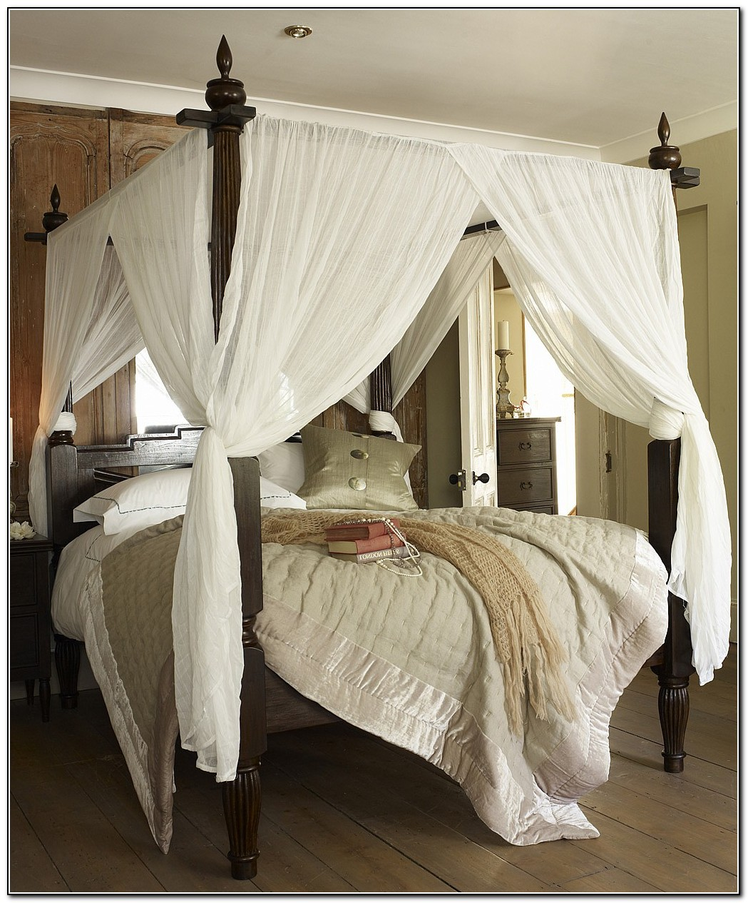 Canopy Bed Curtains Walmart | Canopy Bed Curtains | Canopy Beds with Drapes & Curtain: Twin Bed Canopy Curtains | Queen Canopy Bed With Curtains ...