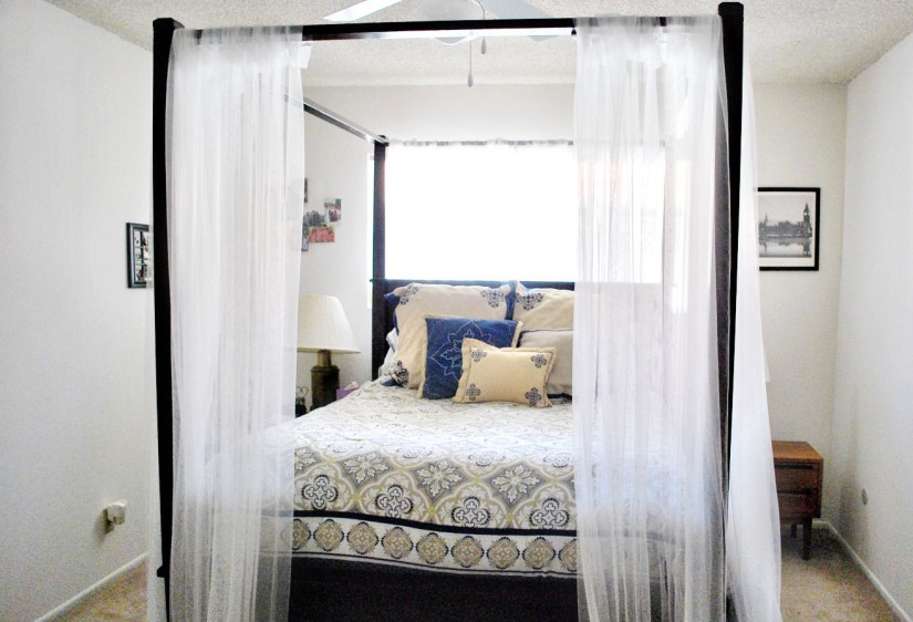 Canopy Curtains For Beds | Canopy Bed Curtain Panels | Canopy Bed Curtains