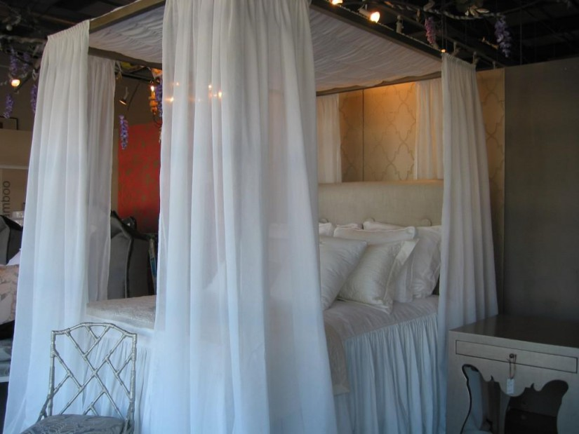 Canopy Sheers For Bed | Curtain Rod Canopy Bed | Canopy Bed Curtains