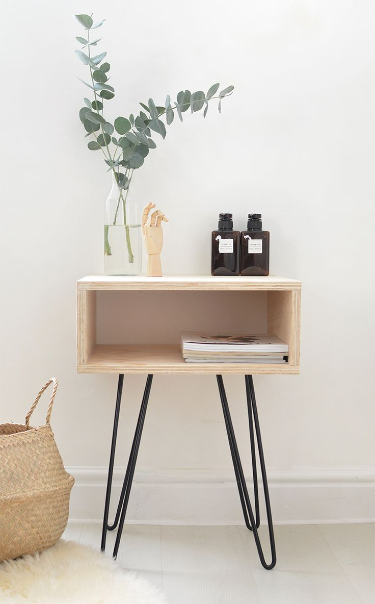 Cb2 Bedside Table | Houzz Bedside Tables | Modern Bedside Tables