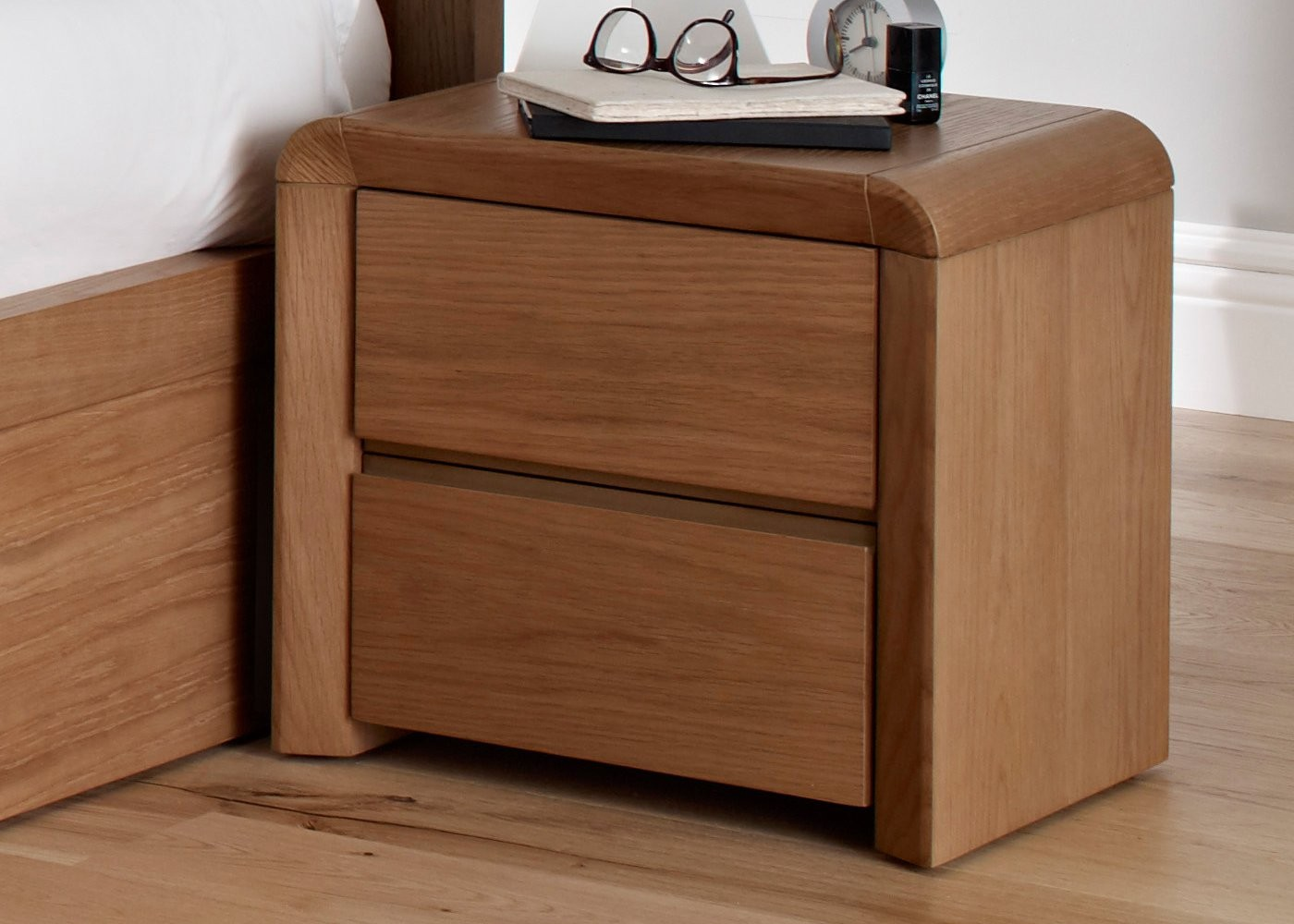Cb2 Bedside Table | Modern Bedside Tables | Slim Nightstand
