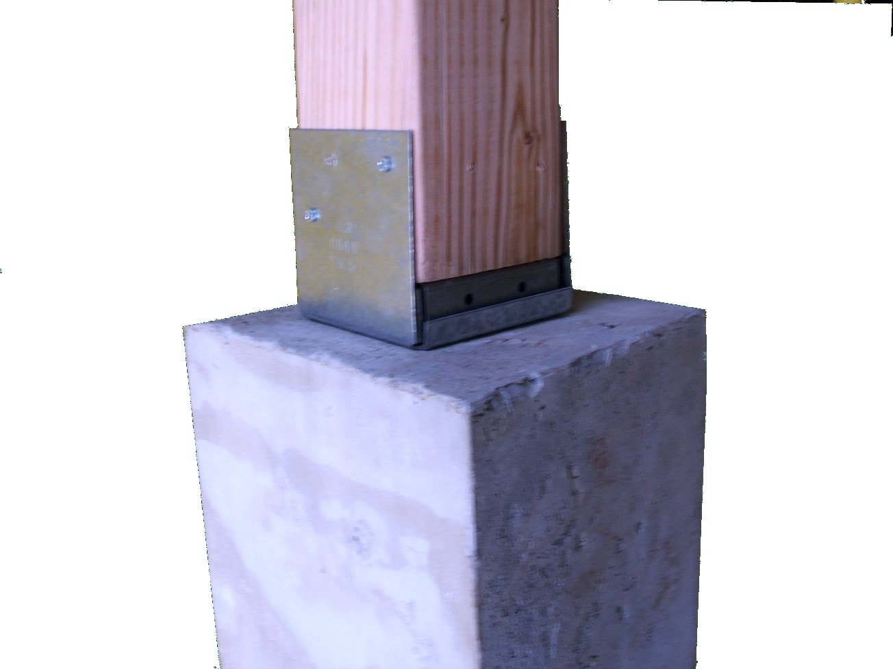Cement Post Base | Precast Concrete Piers Home Depot | Precast Concrete Piers