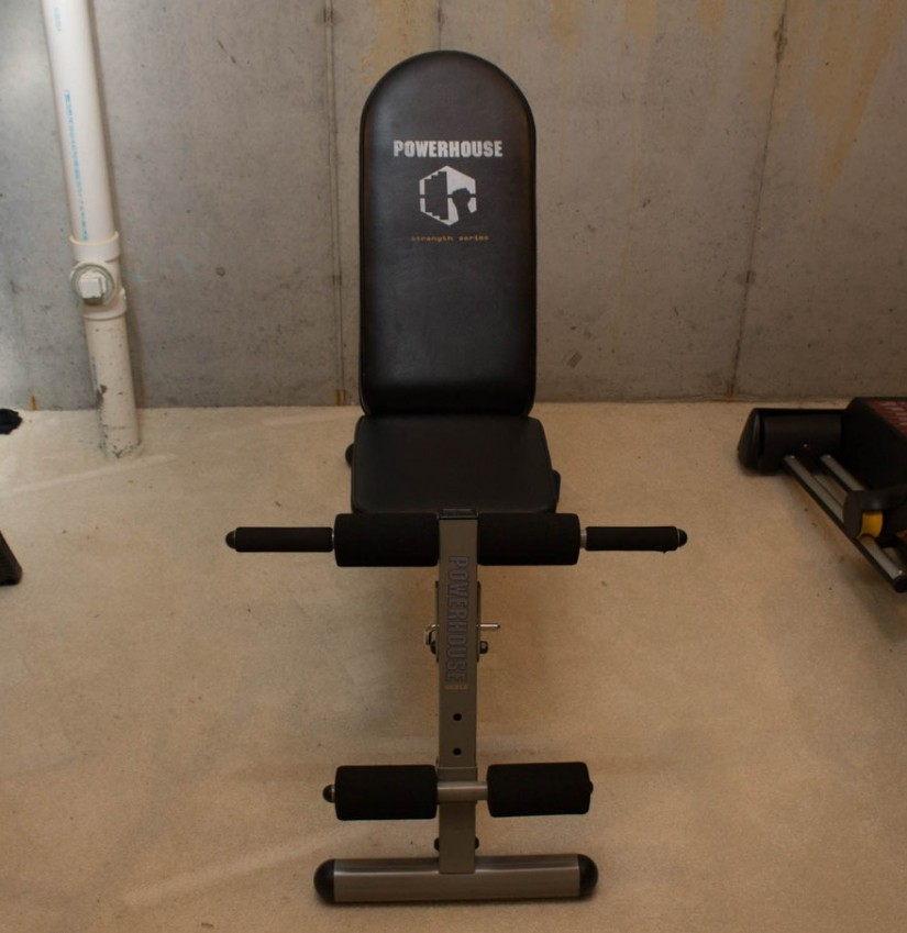 Cheap Bench Press With Weights | Powerhouse Weight Bench | Powerhouse Bench Press