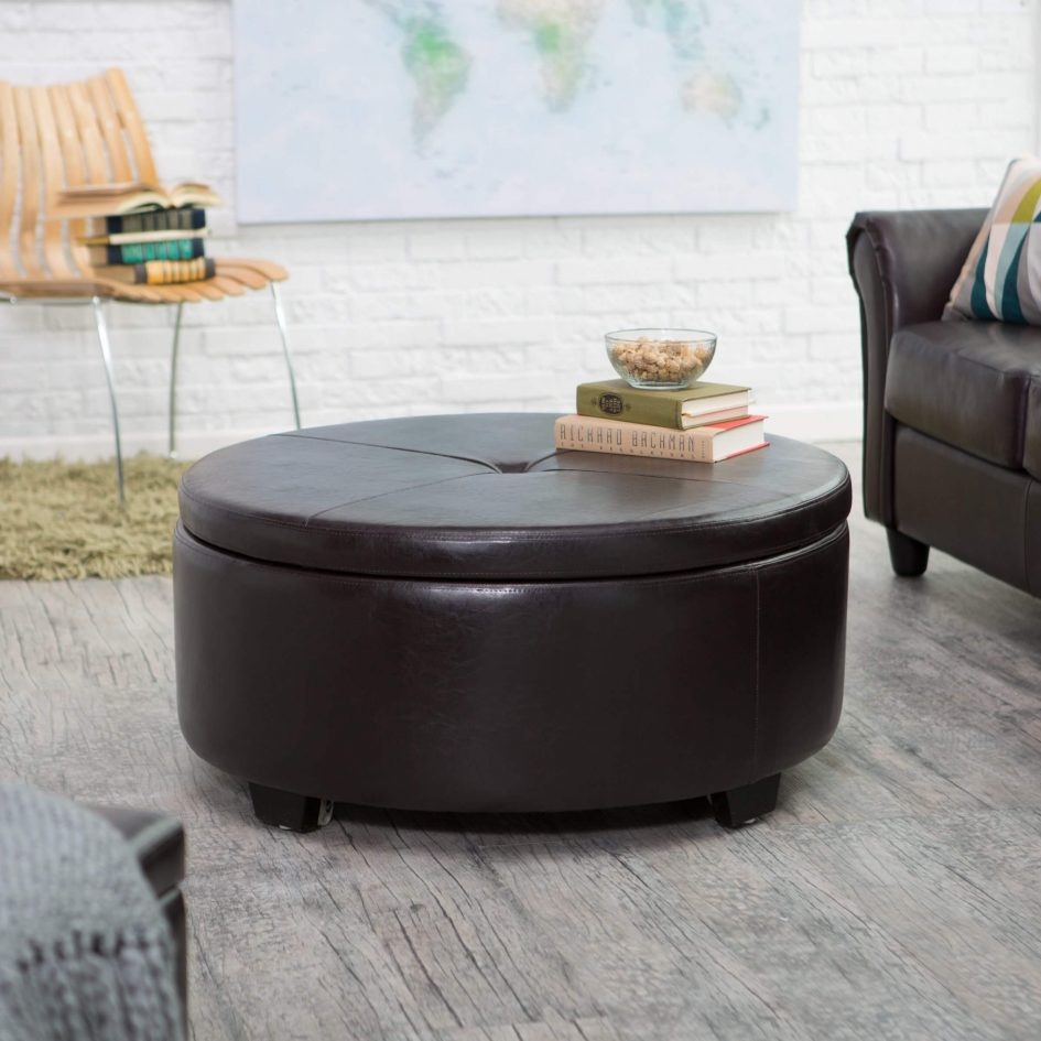 Cheap Round Ottomans For Sale | Round Table Ottoman | Large Ottoman Coffee Table