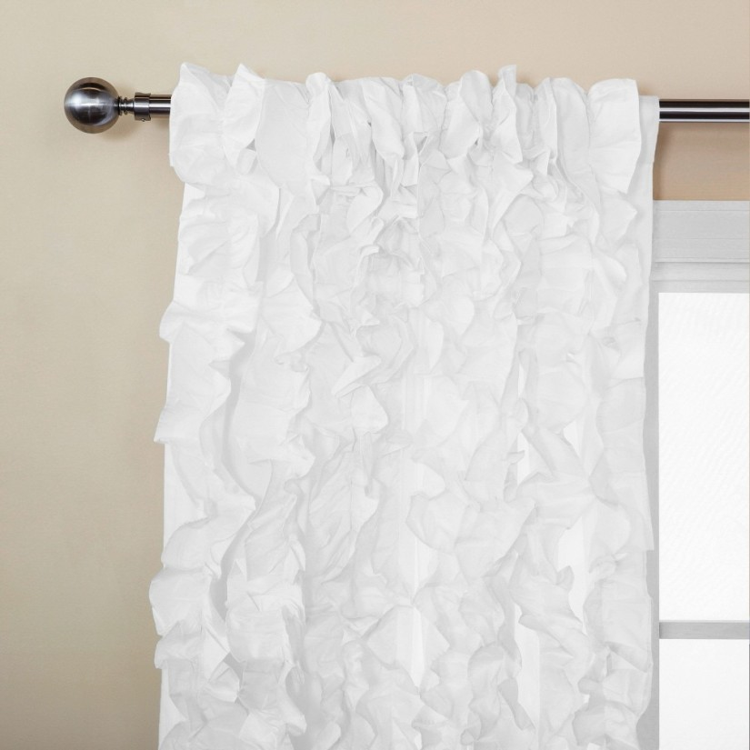 Children Blackout Curtains | Ruffle Window Curtain | Ruffle Blackout Curtains