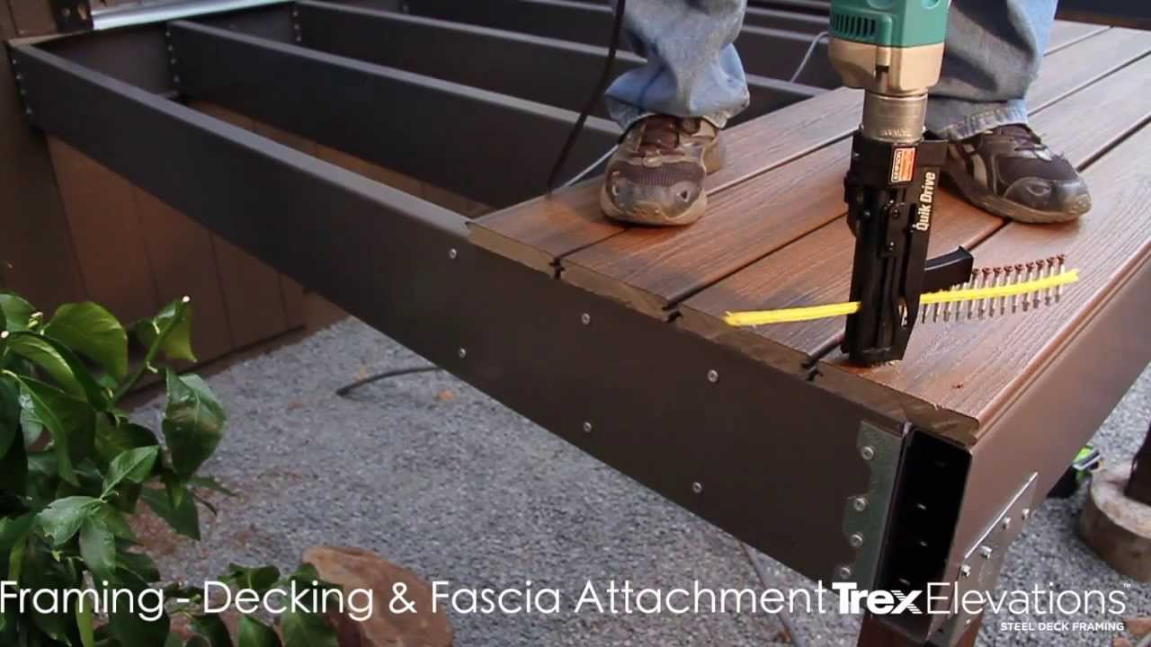 Choicedek Railing Installation | Home Depot Deck Installation | Installing Composite Decking