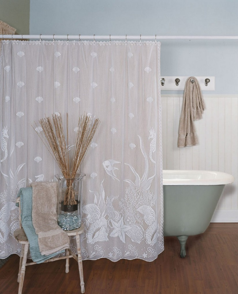 Claw Foot Tub Shower Curtain | Ceiling Mount Shower Curtain Rod Clawfoot Tub | Clawfoot Tub Shower Curtain