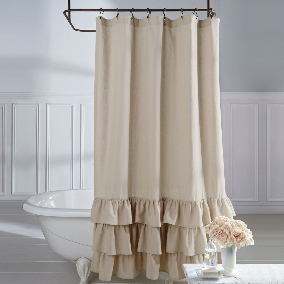 Clawfoot Tub Shower Curtain | Clawfoot Tub Shower Curtain Liner | Free Standing Shower Curtain