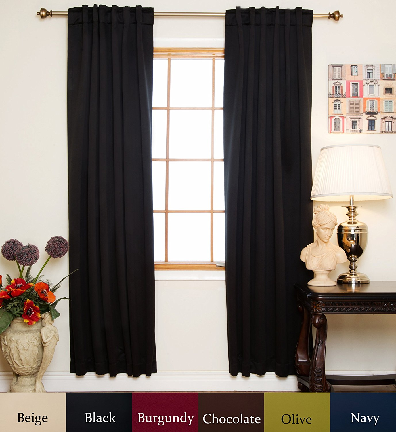 Cold Weather Curtains | Thermal Drapes Curtains | Thermal Insulated Curtains