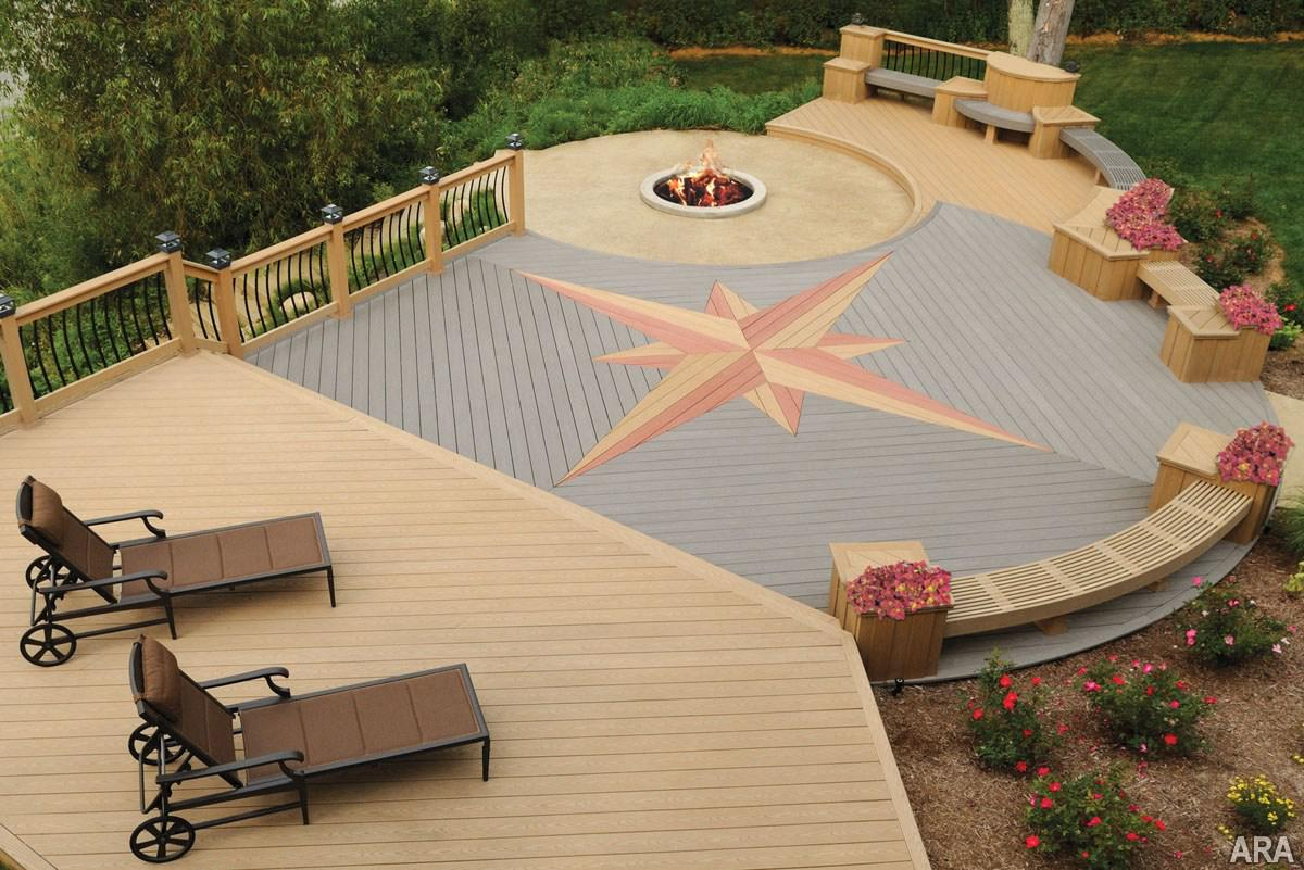 Composite Deck Framing | Composite Decking Stairs | Installing Composite Decking